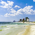 Gulf Shores Al Beach Seascape 1746a by Ricardos Creations