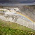 Gulfoss Waterfalls by Doug Ebbert