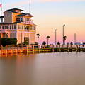 Gulfport Harbor Master's Office - Mississippi - Sunset by Jason Politte