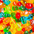 Gummy Bears Abstract Art by SR Green