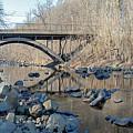 Gunpowder Falls St Pk Bridge - Pano by Brian Wallace