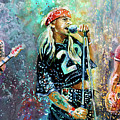 Guns N Roses by Miki De Goodaboom