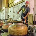 Gurdwara Bangla Sahib Langar 10 by Werner Padarin