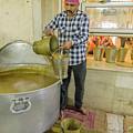 Gurdwara Bangla Sahib Langar 20 by Werner Padarin