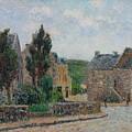 Gustave Loiseau 1865 - 1935 Rue A St. Lunaire by Adam Asar