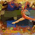 Gymnast Girl by Jean Francois Gil