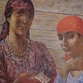 Gypsies Kuzma Petrov-vodkin - 1926-1927 by Adam Asar