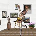 Digital Exhibartition _  Dancing Girl  by Pemaro