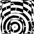 H Maze by Yonatan Frimer Maze Artist