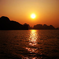 Ha Long Bay Sunset by Oliver Johnston