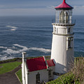 Haceta Head Lighthouse by Alex Hagerty