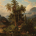 Hacienda De San Esteban De Puerto Cabello, Venezuela by Ferdinand Bellermann
