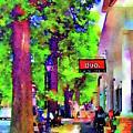 Haddonfield Downtown by Denise Haddock