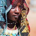 Hadji A Fulani Girl II by Irene Abdou