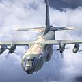 Haf C-130 Hercules by Antonis Karidis