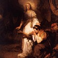Hagar And The Angel 1645 by Fabritius Carel