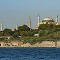 Hagia Sophia And Blue Mosque by Bob Phillips