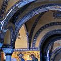 Hagia Sophia Detail by Alan Toepfer