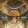 Hagia Sophia Interior by Artur Bogacki