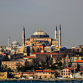 Hagia Sophia - Istanbul Turkey by Debra Martz