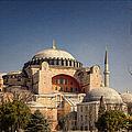 Hagia Sophia by Joan Carroll