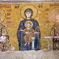 Hagia Sophia Mosaic by Emily M Wilson