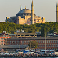 Hagia Sophia On The Bosphorus  by Bob Phillips