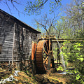 Hagood Mill Historic Site Gristmill by Kelly Hazel