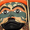 Haida Faces by Ian  MacDonald