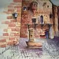 Haidelburg Castle by Samir Saqallah