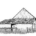 Haines Barn by Virginia McLaren