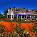 Hainesville Barn Color by Robert Storost