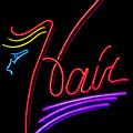 Hair In Neon by E Faithe Lester