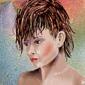 Hairstyle Of Colors by Arline Wagner