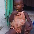 Haitian Boy by Kelly Statham