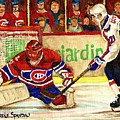 Halak Makes Another Save by Carole Spandau