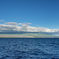 Haleakala From The Sea by Jim Thompson