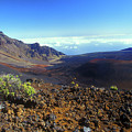 Haleakala Volcano Crater by John Burk