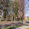 Half Circle Building by Robert VanDerWal