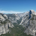 Half Dome From Glacier Point by Belinda Greb