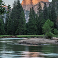 Half Dome In Evening Light by Bill Roberts