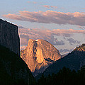 Half Dome Mountain At Sunset, Yosemite by Panoramic Images