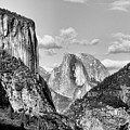 Half Dome Tunnel View  by Chuck Kuhn