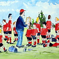 Half Time Pep Talk by Wilfred McOstrich