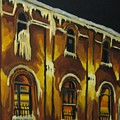 Halifax Ale House In Ice by John Malone