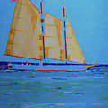 Halifax Keys Schooner by Art Mantia