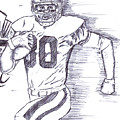 Hall Of Famer Jerry Rice   by HPrince De Artist