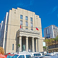 Hall Of Justice In Valparaiso-chile  by Ruth Hager