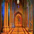 Hall Of The Cathedral by Jost Houk