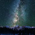 Hallett Peak - Milky Way 2 by Gary Lengyel